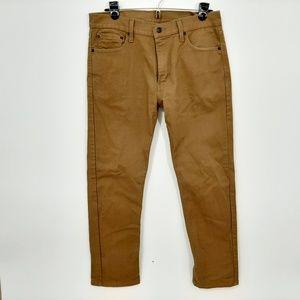Levi's 513 Men's Jeans Size 32 X 30 Brown SZ1